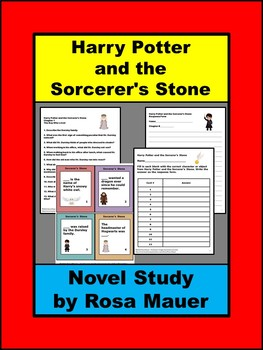 Harry Potter and the Sorcerer's Stone Book Unit