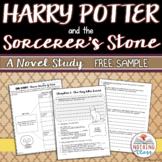 Harry Potter and the Sorcerer's Stone Novel Study Unit: FREE Sample