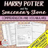 Harry Potter and the Sorcerer's Stone: Comprehension and Vocabulary by chapter