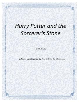 Harry Potter and the Sorcerer's Stone Novel Unit Plus Grammar