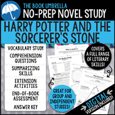 Harry Potter and the Sorcerer's Stone Novel Study - Distance Learning
