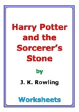 """""""Harry Potter and the Sorcerer's Stone"""" worksheets (Distan"""