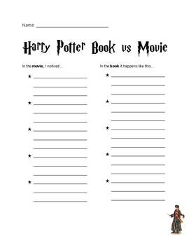 Harry Potter book vs movie guide