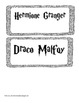 Harry Potter character analysis