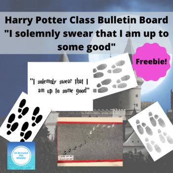 Harry Potter class bulletin board I solemnly swear