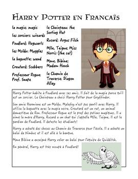 Harry Potter en Francais