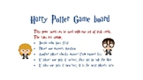 Harry Potter game board