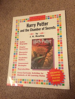 Harry Potter & the Chamber of Secrets Literature Guide