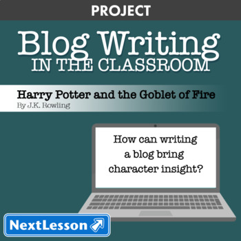 Harry Potter & the Goblet of Fire: Character Blog Writing - Project