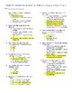 Harry Potter & the Order of the Phoenix Quizzes & Final Exam - Ch 1-38 w/ Key