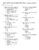 Harry Potter & the Sorcerer's Stone Quizzes & Final Exam - Ch 1-17 w/Answer Key