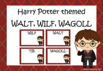 WALT, WILF, WAGOLL:  Harry Potter theme