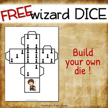 FREE Harry Potter-themed dice