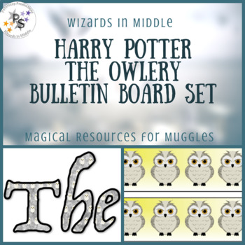 Harry Pottery Bulletin Board Set: The Owlery