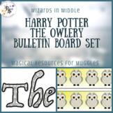 Harry Pottery Bulletin Board Set: The Owlery