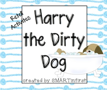 Harry The Dirty Dog Retell Activities
