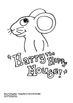 Harry The Happy Mouse - Pack 1 - Colouring Pages