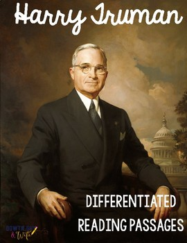 Harry Truman Differentiated Reading Passages