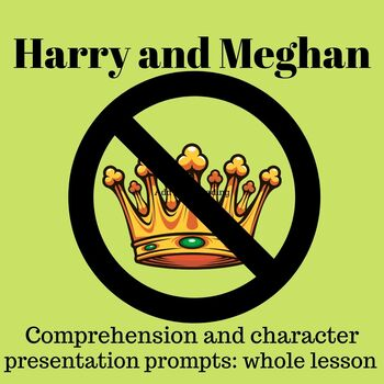 Harry and Meghan 'Stepping Down' Comprehension and group presentation prompts