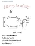 Harry is Okay - Free coloring sheet