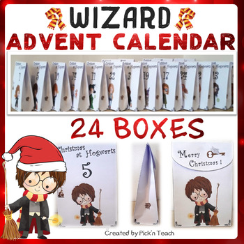 Harry Potter Advent Calendar.Harry Potter Advent Calendar For Harry Potter Fans