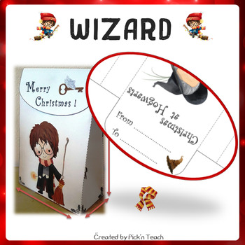 Harry potter DIY - CHRISTMAS GIFT BOXES