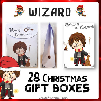 harry potter diy christmas gift boxes