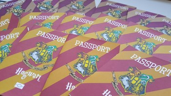Harry potter passport