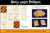 Harry potter passport