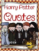 Harry potter saying and quotes for the classroom
