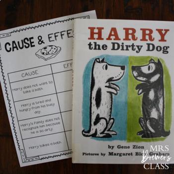 Harry The Dirty Dog By Anita Bremer Teachers Pay Teachers