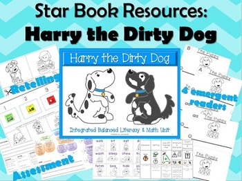 Harry the Dirty Dog:  Star Book Literacy Unit for Reader's