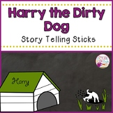 Harry the Dirty Dog Stick Puppets
