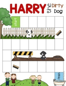 Harry the Dirty Dog {book companion}