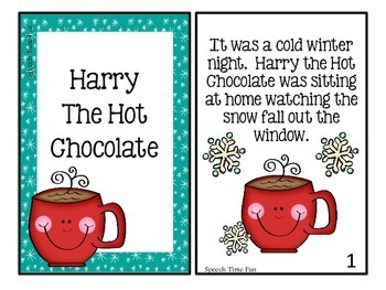 Harry the Hot Chocolate Interactive Story Comprehension Activities