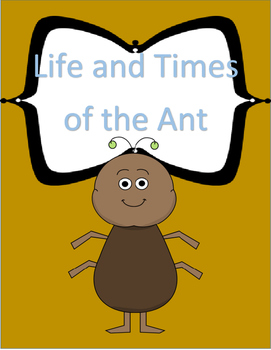 Hartcort Journeys 4th Grade Lesson 14 Life and Times of the Ant Vocab Packet