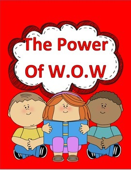 Hartcort Journeys 4th Grade Lesson 4 Power of W.O.W. Vocab Packet