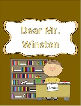 Hartcort Journeys 4th Grade Lesson 9 Dear Mr. Winston Vocab Packet