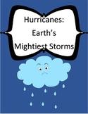Hartcourt Journeys 4th Grade Lesson 11 Hurricanes Vocab Packet
