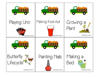Harvest Acres: Expressive Language Activities for Fall