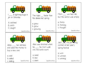 Harvest Acres: Grammar Activities for Fall