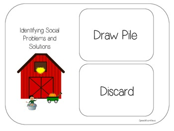 Harvest Acres: Social Language Activities for Fall