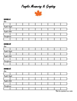 Fall Harvest Math Activity Book