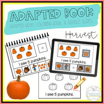 Harvest Adapted Book & Student Book for Early Childhood Special Ed
