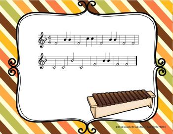 Harvest - An Autumn Folk Song w/ Orff Instrument Accompaniment