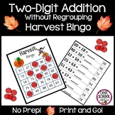 Harvest Bingo | Double Digit Addition Without Regrouping