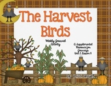 Harvest Birds Journal Booklet 3rd Grade Journeys