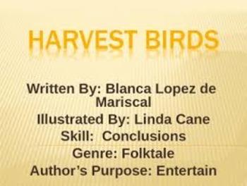 Harvest Birds Journeys Grade 3 Unit 2 Lesson 8 Day 2