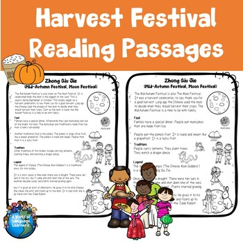 Harvest Celebration Reading