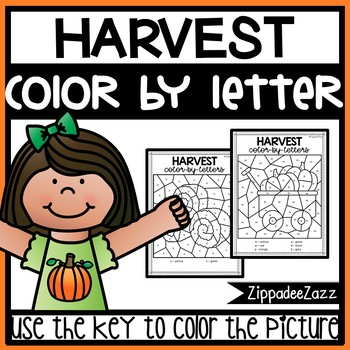 Harvest Color by Letter Reversal